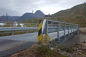 Road bridge in Jøkelfjord
