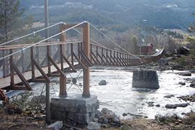 Prestefossen bridge