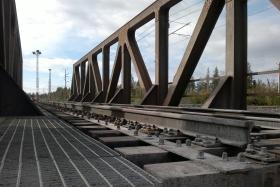 Railway Bridge over Åby River