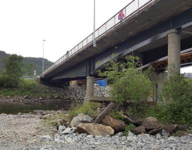 Bårdshaug bru, Norge