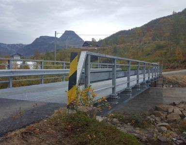 Jøkelfjord bru, Norge