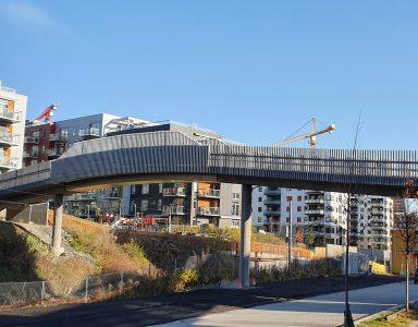 Løpstikka gang og sykkelbro, Norge