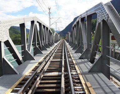 Otta jernbanebru, Norge